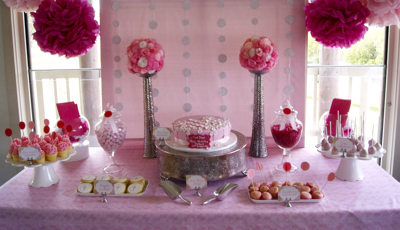 Christening Table Decoration Ideas