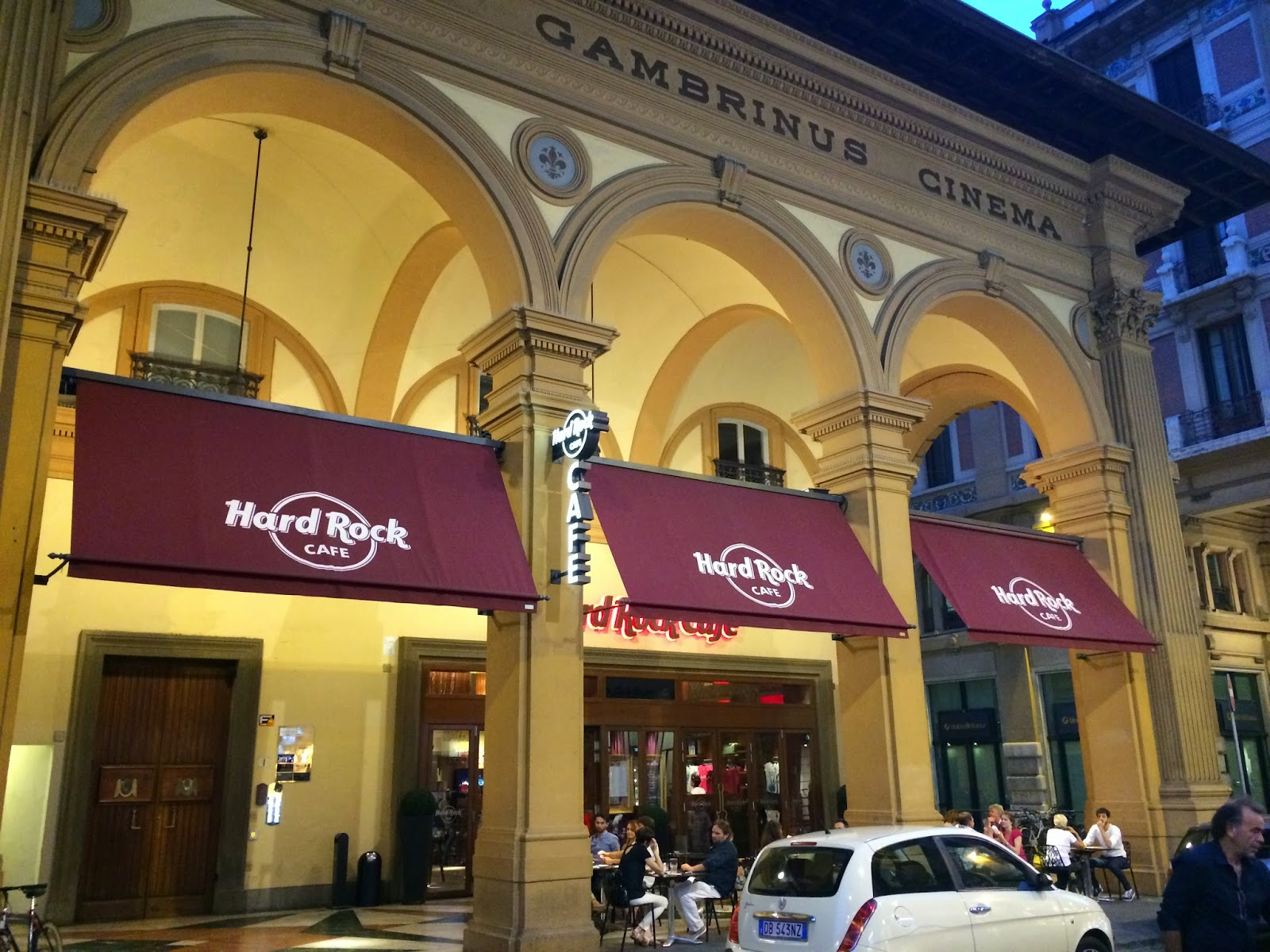 Itália, Firenze, Florença, Hard Rock, hamburger, pint