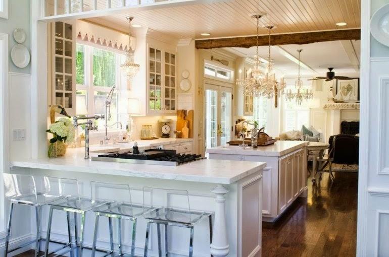 [Decoración muy Chic] Transformar una cocina normal en una de lujo