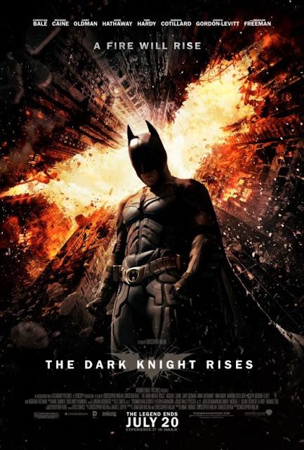 dark knight rises, batman, movie poster