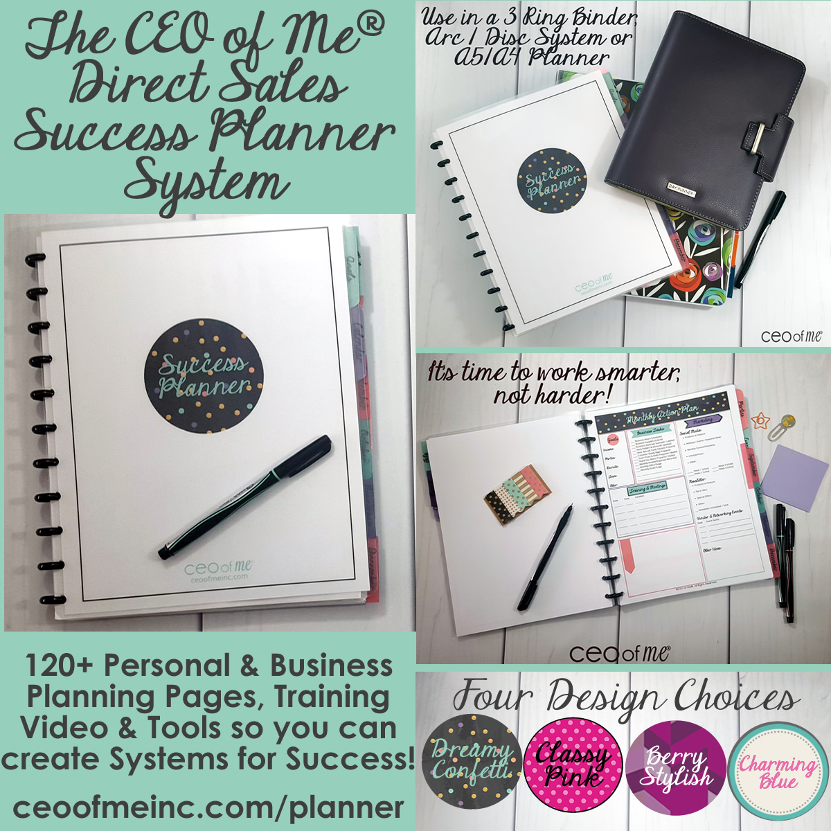 I love Planners! Here's my favorite for direct sales: