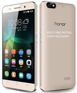 How to root Huawei Honor 4x/4c and Install TWRP recovery for Lollipop