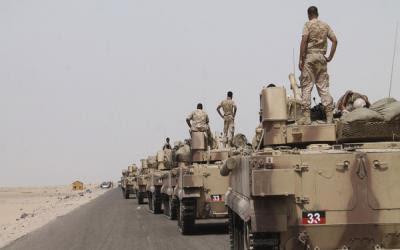 Saudi Kembali Mengerahkan Ribuan Pasukan Darat Menumpas Houti Yaman, Ini Foto-fotonya