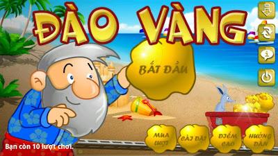 Tải game đào vàng Online về cho điện thoại: Android, Java...