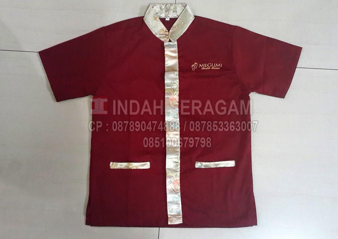 Indah seragam megumi health centre jakarta for Spa uniform indonesia