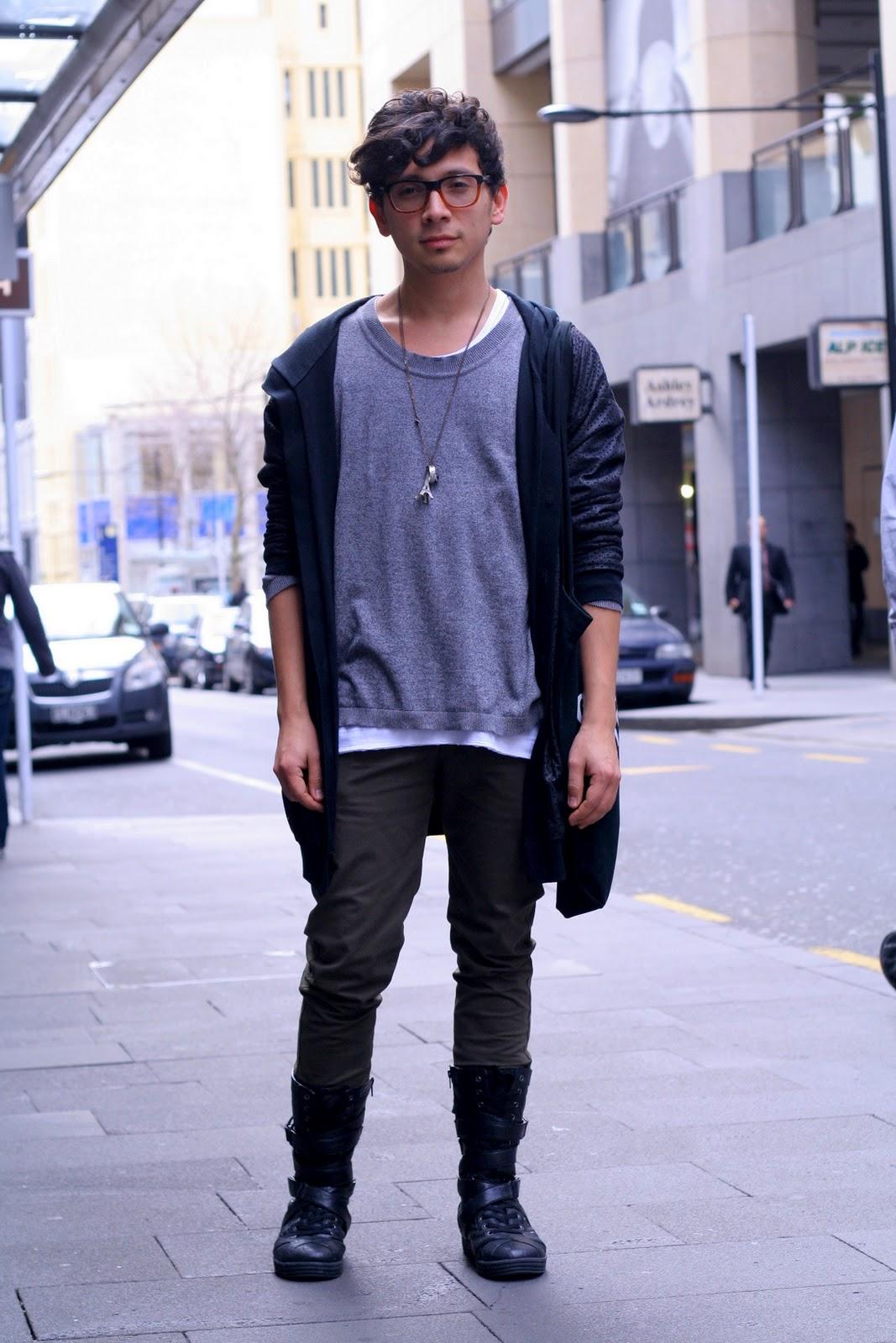 Foureyes New Zealand Street Style Fashion Blog Gil