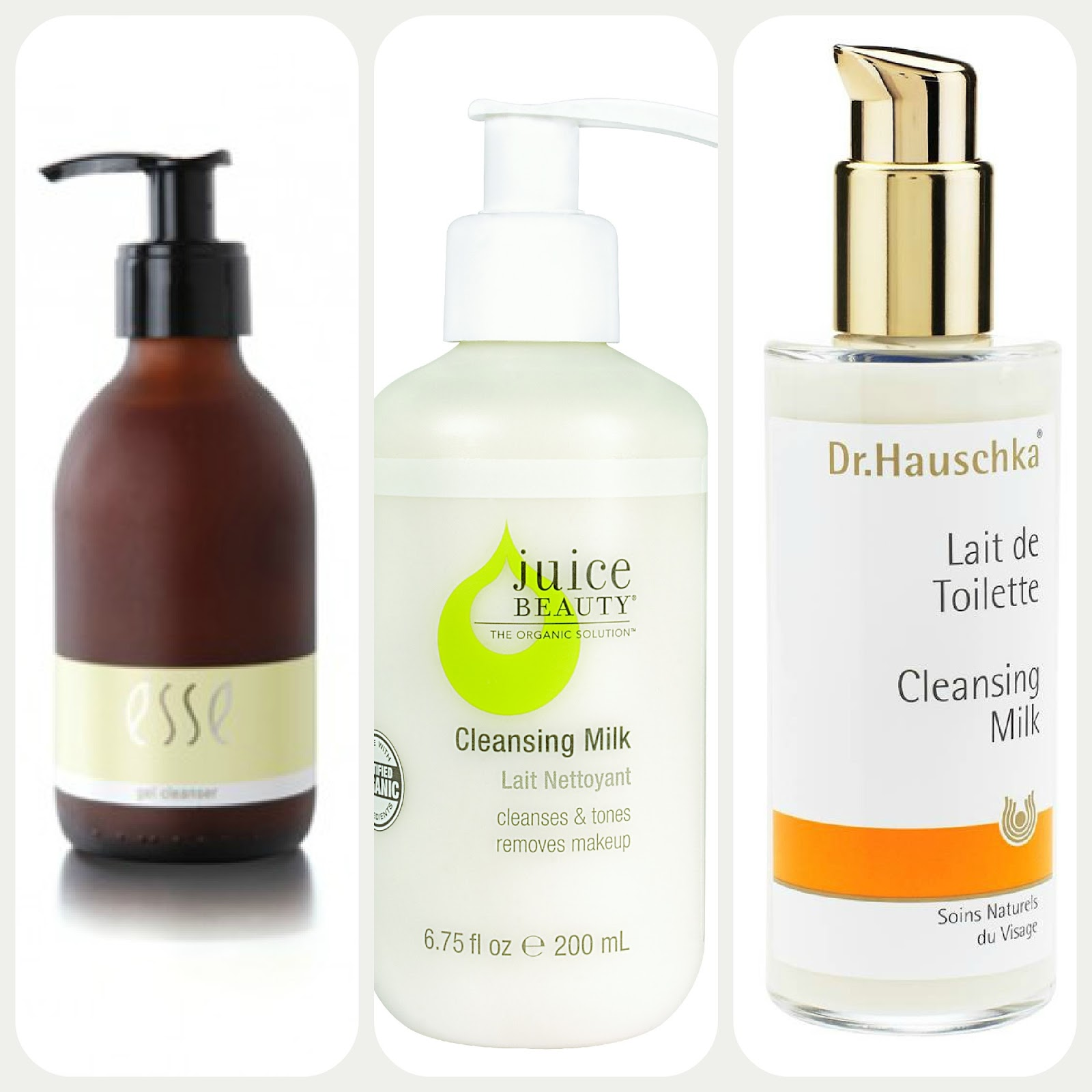 The Glam Green Girl: Facial Cleansers