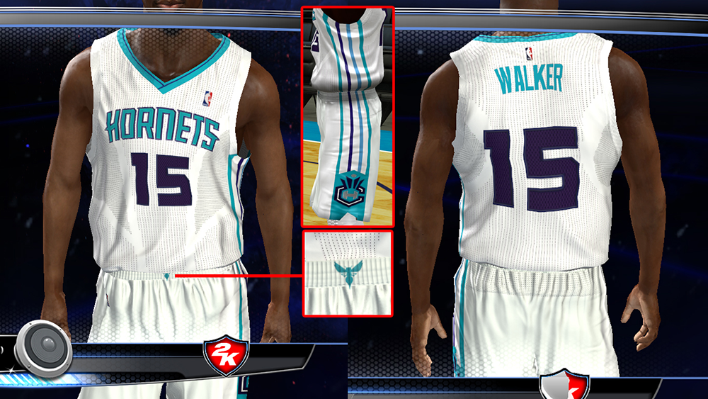 Charlotte Hornets Home Jersey | NBA 2K