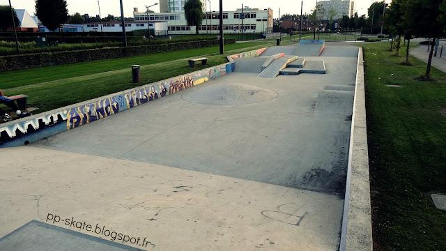 Skatepark Aulnoy lez Valenciennes