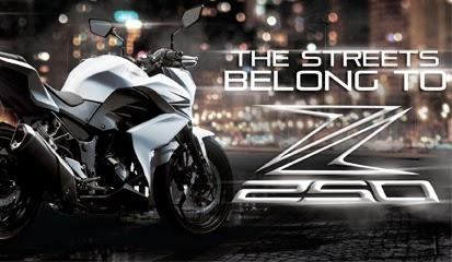 Kawasaki Z250 Terbaru 2015