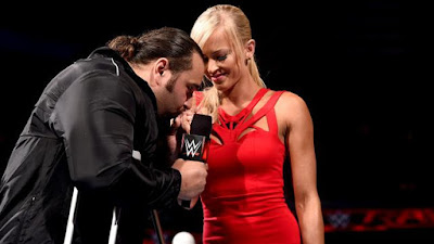 Rusev marries Summer Rae Monday Night Raw wedding