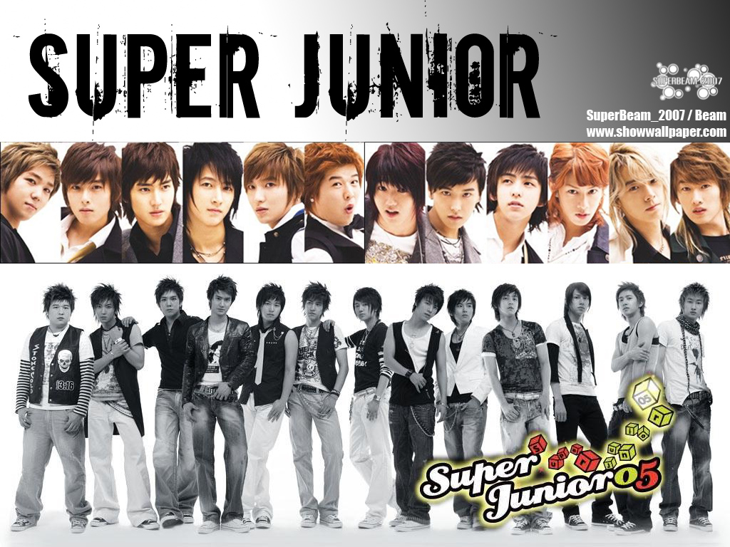 Super Junior Kpop Group