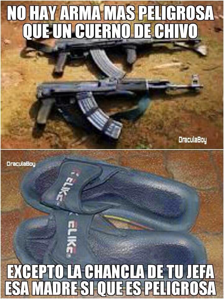 Imágenes Chistosas: Arma peligrosa