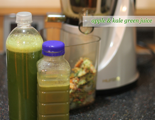 Sprinkles and Style || Apple & Kale Green Juice