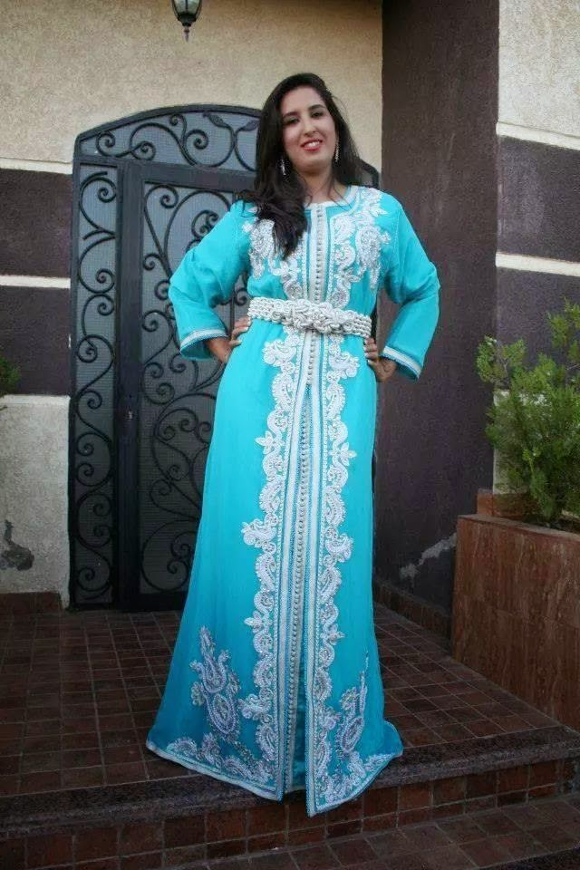 caftan turquoise 2015