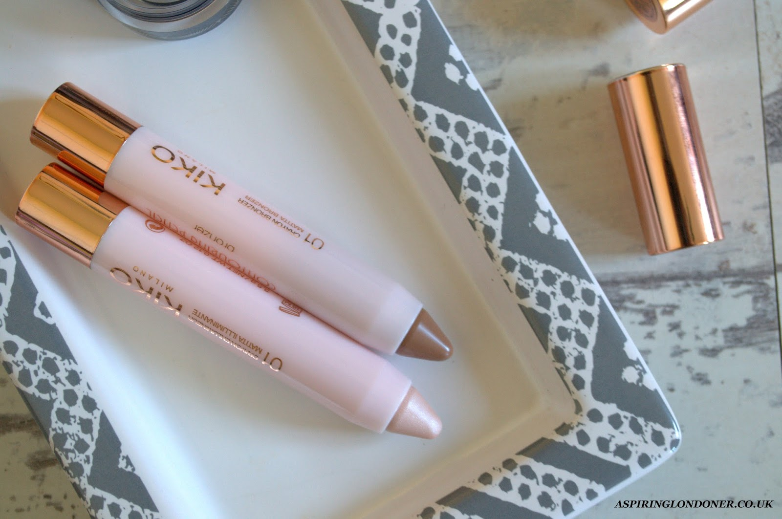 Kiko Rebel Romantic Contouring Pencil Set Review - Aspiring Londoner
