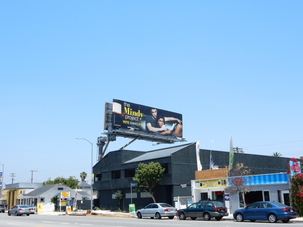 Mindy Project 2015 Emmy billboard