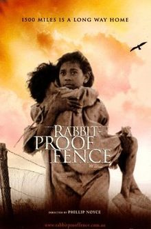 rabbit proof fence journey essay