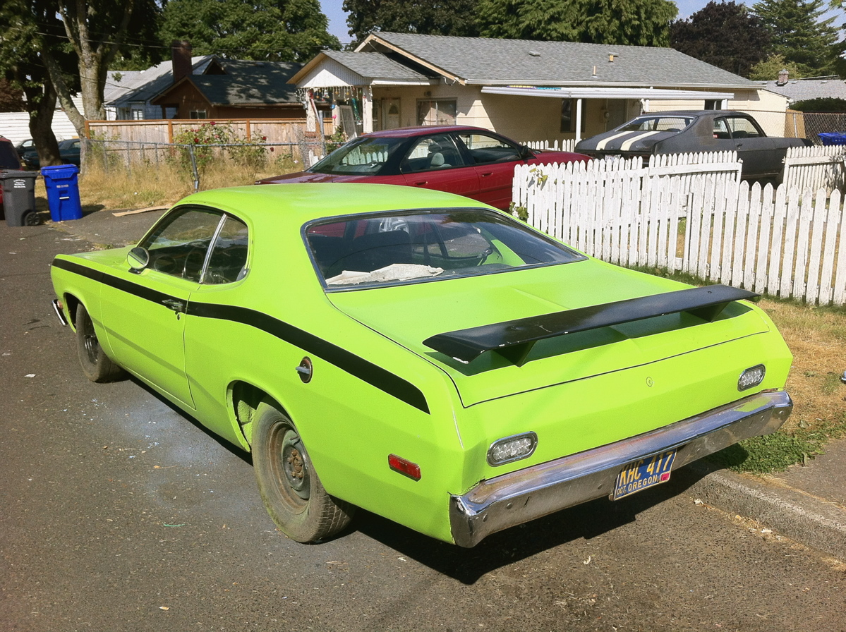 1972 Plymouth Duster at SEMA 2013 – Popular Hot Rodding - Hot Rod ...