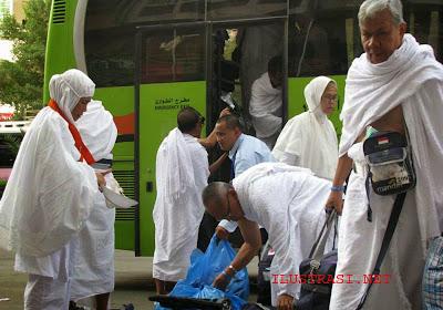 325 Caljah kloter Lima ke Arafah