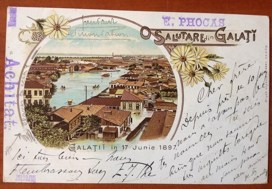 Inundatiile din Galati 1897