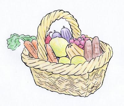 draw bikurim basket