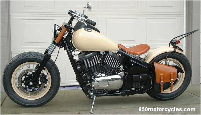 800 VN - saddlebag pour bobber. Kawasaki+vulcan+800