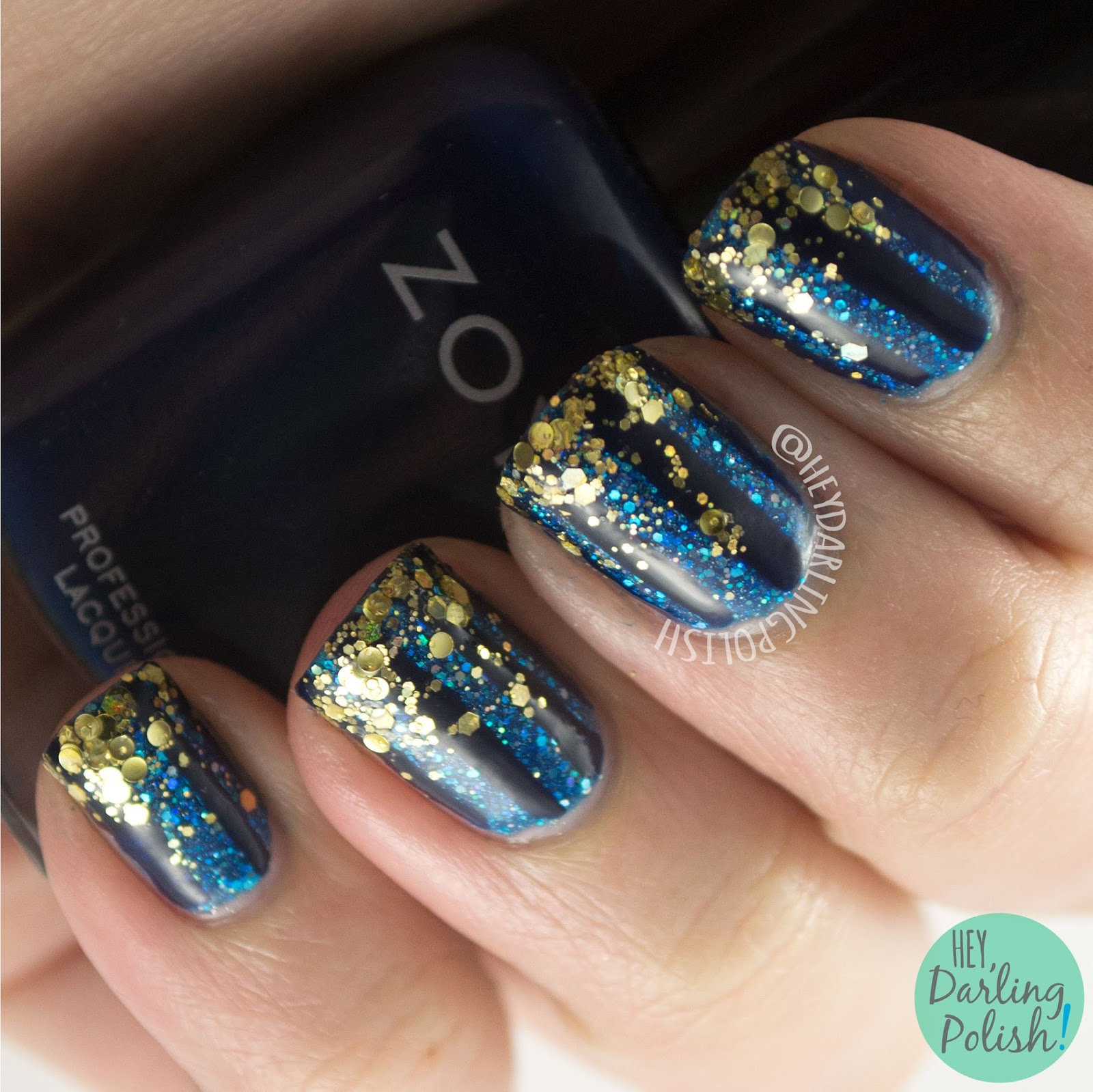 Hey, Darling Polish!: 31 Day Challenge 2015: Tape Manicure