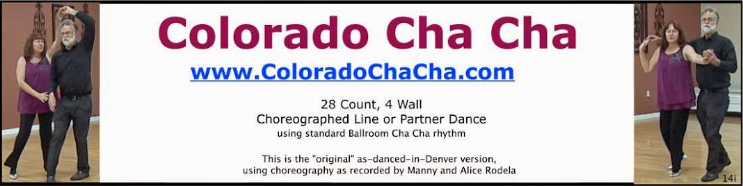 Dance the Colorado Cha Cha, aka Cowboy Cha Cha, Denver Cha Cha, Stationary Cha Cha, Texas Cha Cha