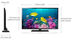 Harga Dan Spesifikasi Samsung Tv Led 32 Inch Ua32f5000 Infotekno