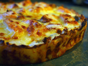 Киш с кабачками и сыром рецепт
