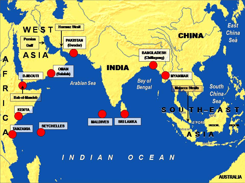 indian ocean military sea china asian
