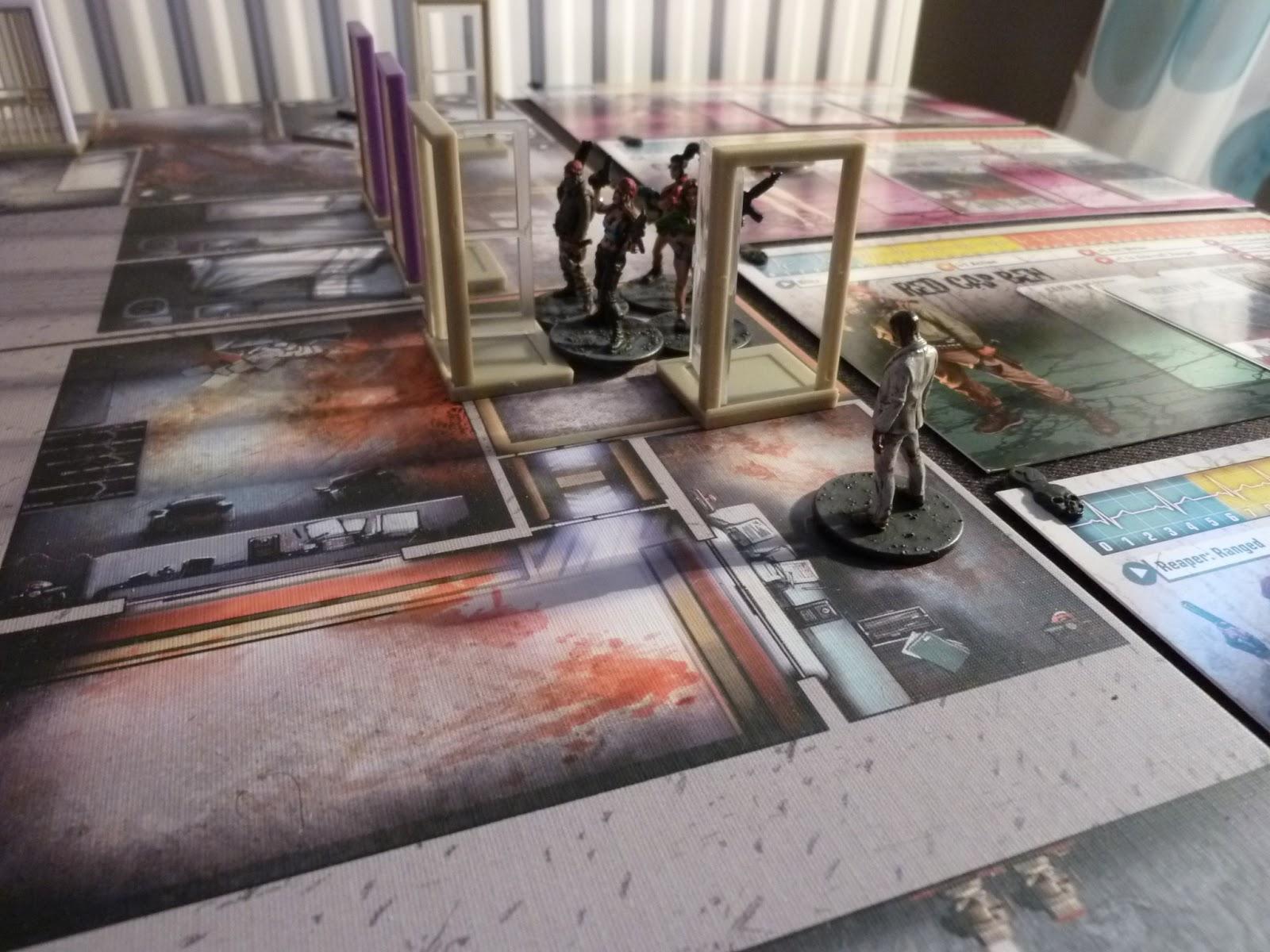 Zombicide prison outbreak the welder for Porte zombicide