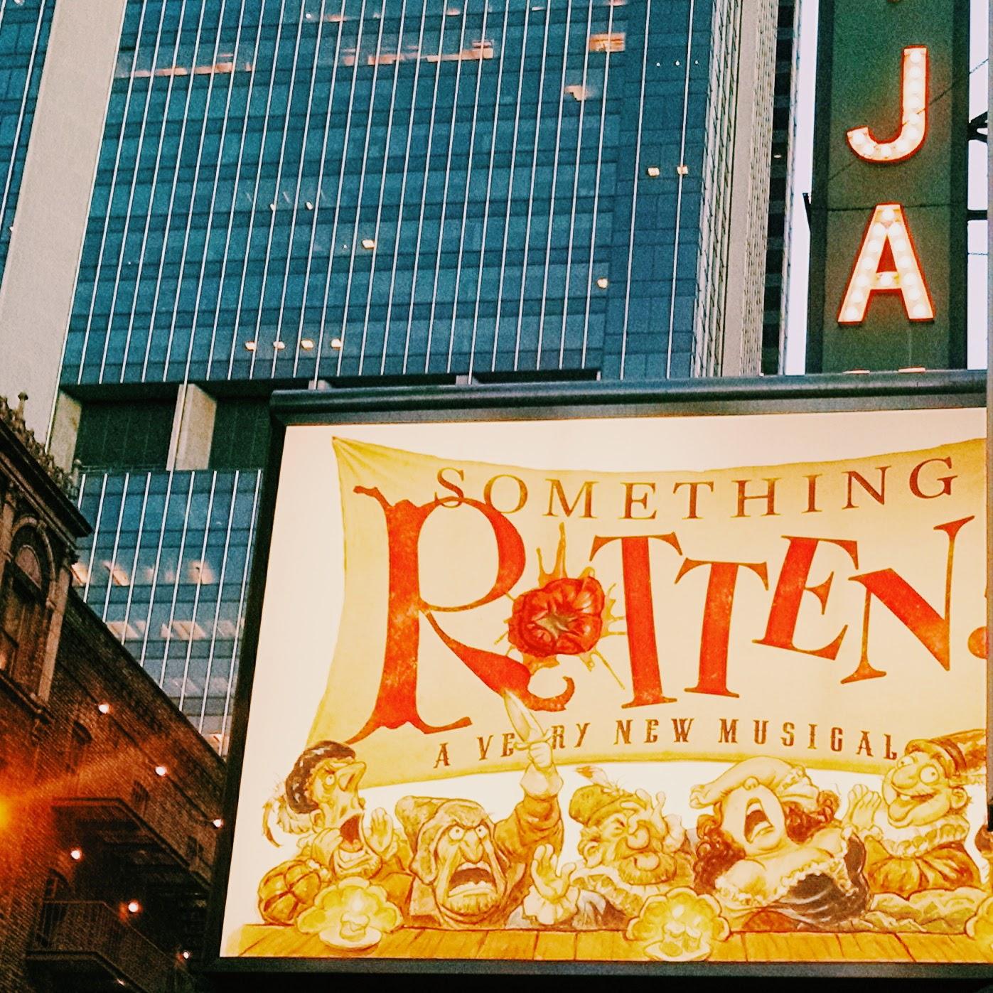 Something Rotten Broadway