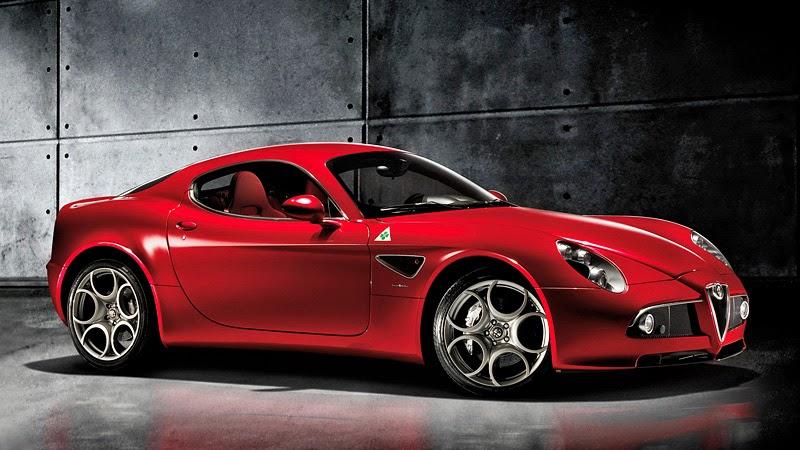 Foto Alfa Romeo 8C Competizione Mobil Paling Keren di Dunia Wallpaper