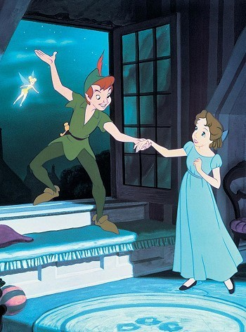 Peter Pan, Peter and Wendy, Disney Love