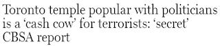 toronto terrorism
