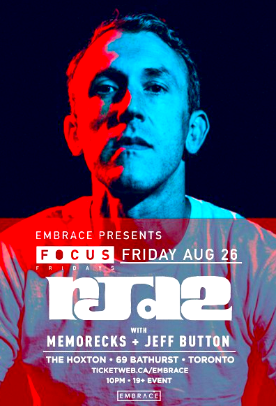 RJD2 @ The Hoxton, Friday