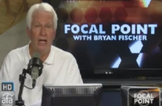Certifiable wingnut Bryan Fischer
