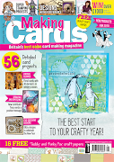 CURRENTLY PUBLISHED ON THE COVER OF THE JANUARY ISSUE OF MAKING CARDS MAGAZINE