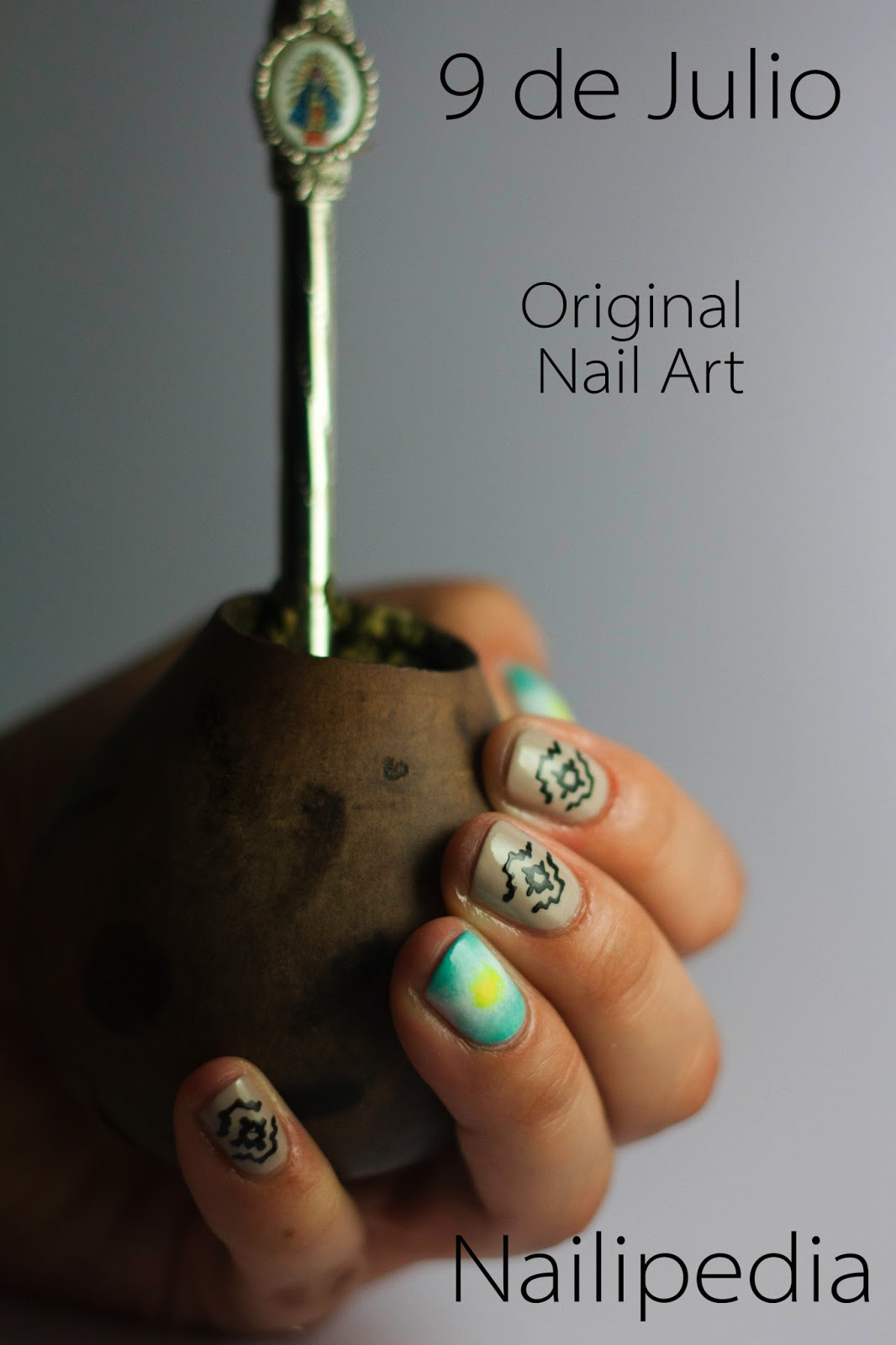 nailipedia 9 de julio original nail art. Black Bedroom Furniture Sets. Home Design Ideas