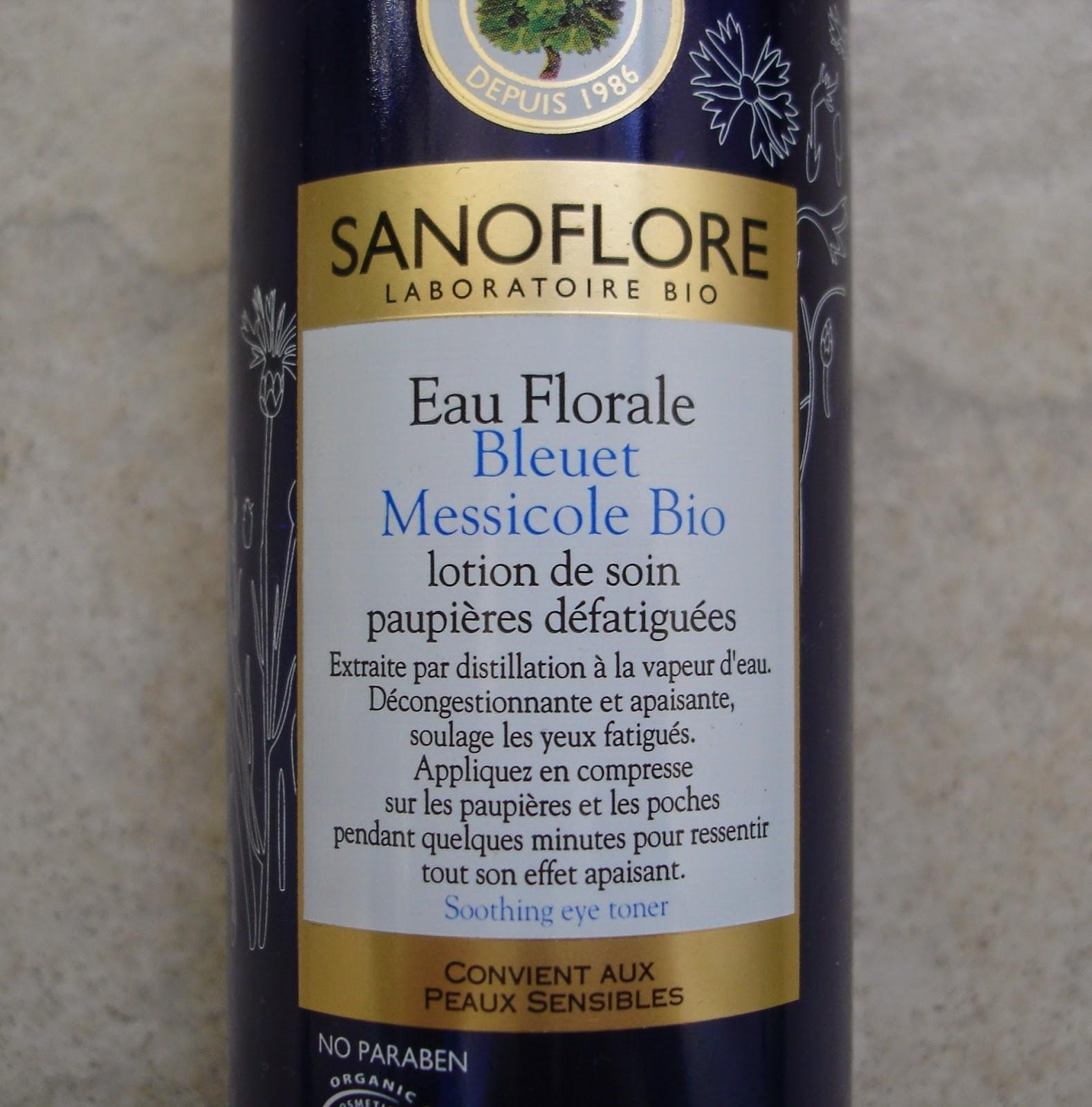 Sanoflore Eau florale de Bleuet Messicole