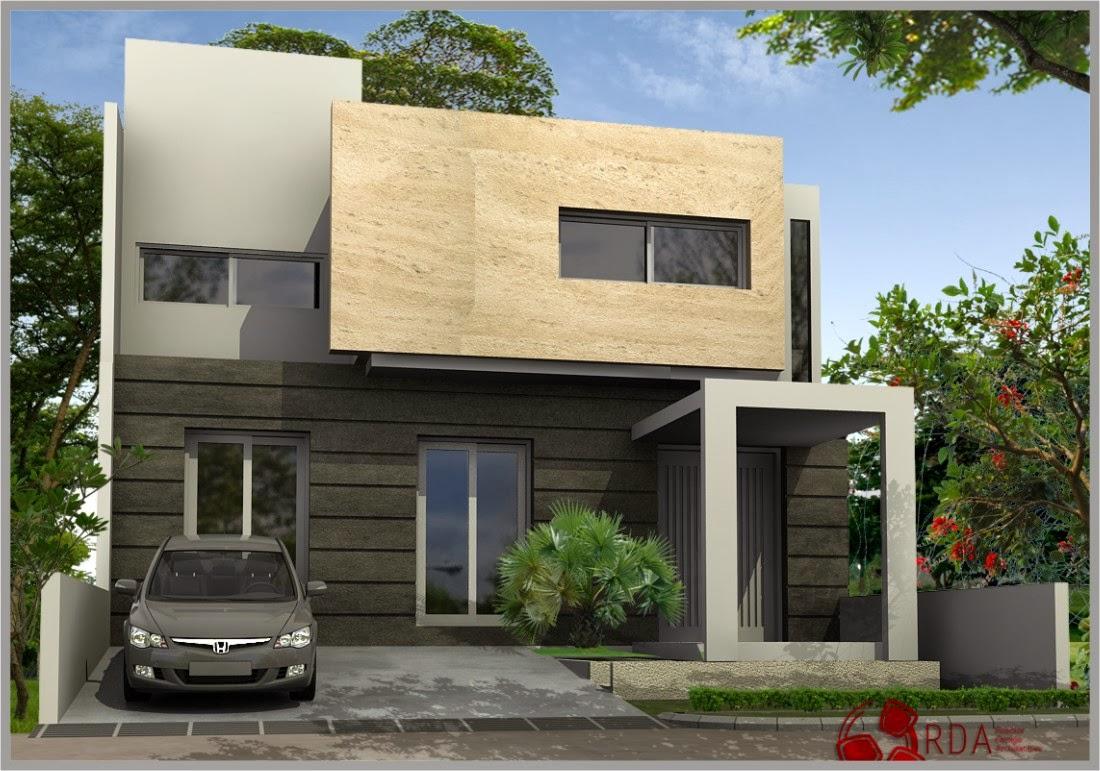 Tampak Depan Rumah Minimalis: Tampak Depan Rumah Minimalis 2 Lantai