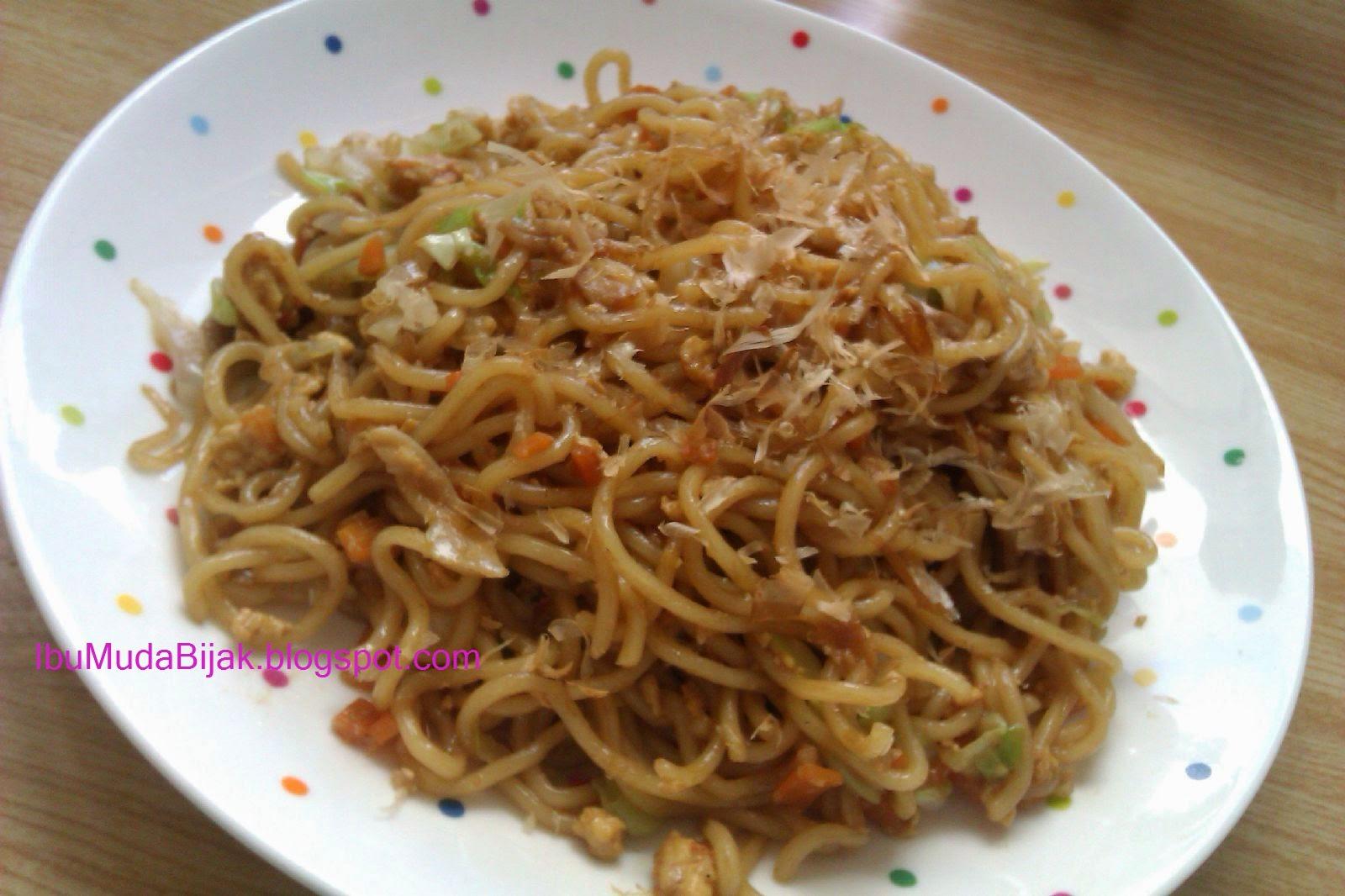 japanese food resep yakisoba