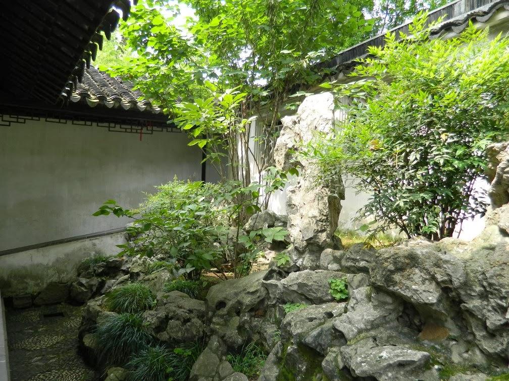 Rock garden Lingering Garden Suzhou by garden muses-Toronto gardening blog