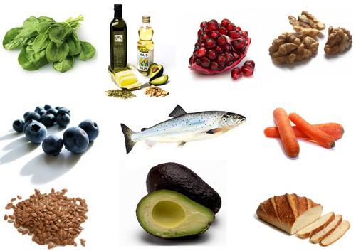 mat med långsamma kolhydrater