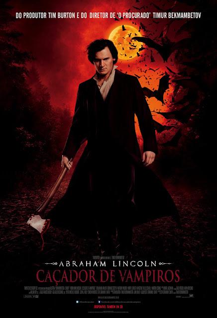 Abraham Lincoln O Caçador de Vampiros Poster Oficial