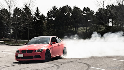 BMW M3 in Matte Red is Amazing