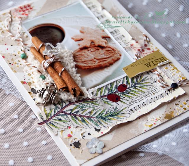 открытка+новый год+ручная работа