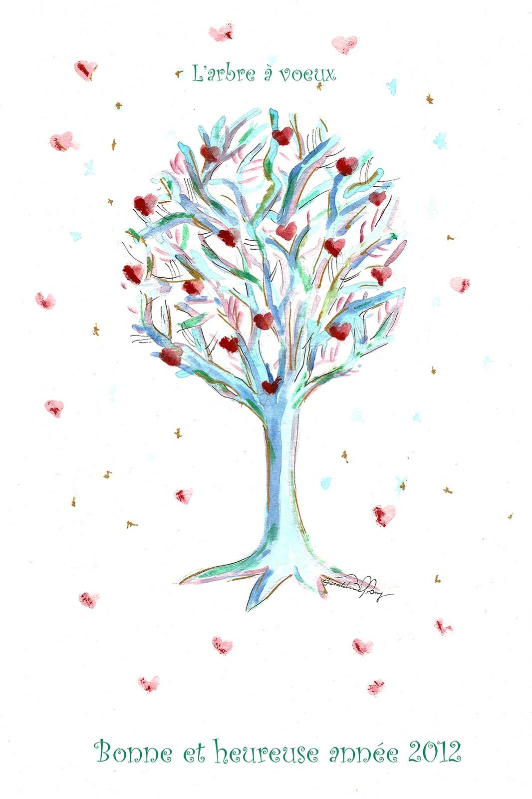G raldine hary 9 janv 2012 - L arbre a souhait ...